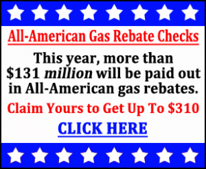 Claim your $310 gas rebate